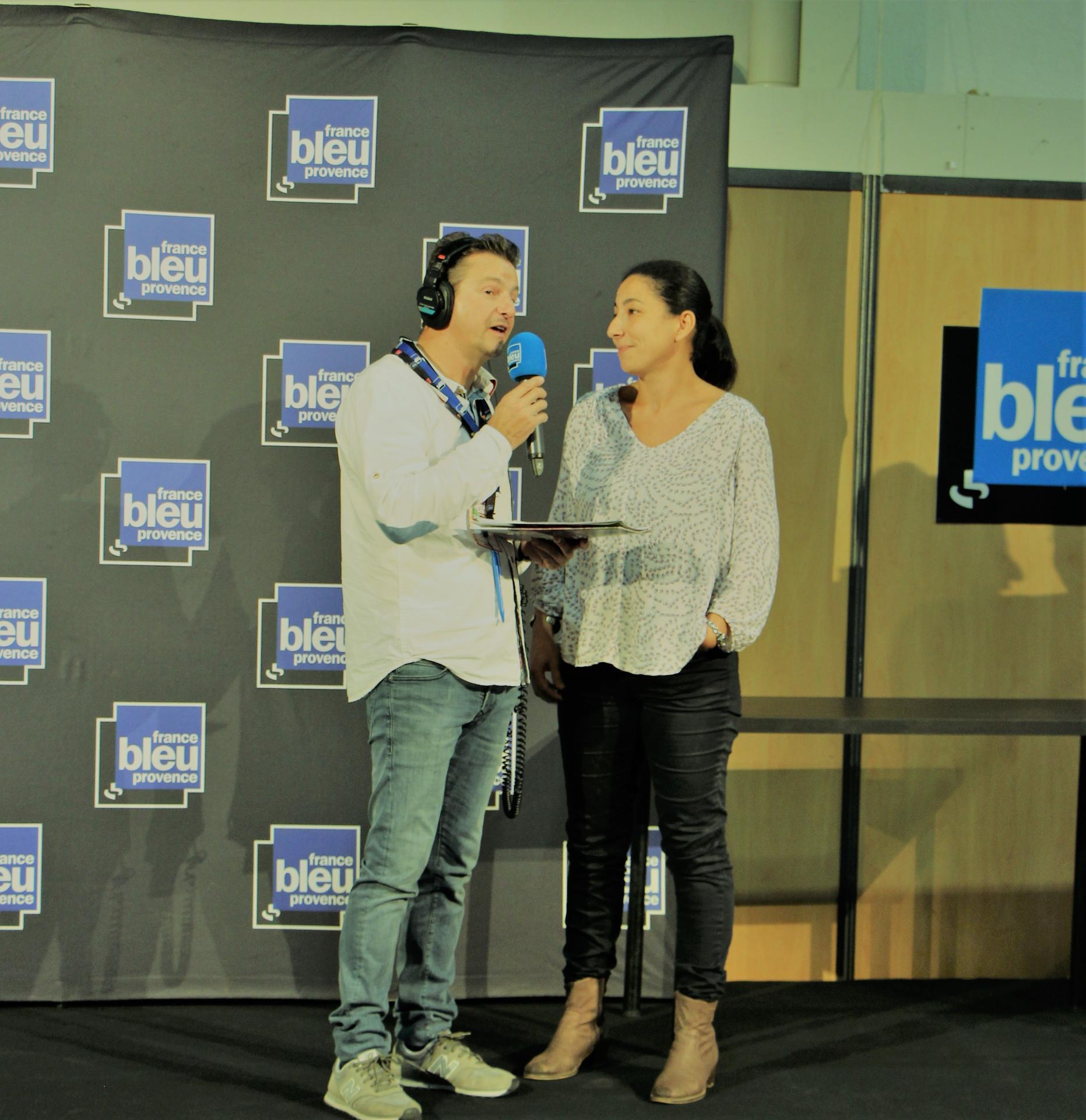 Interview sabrya chaaf france bleu