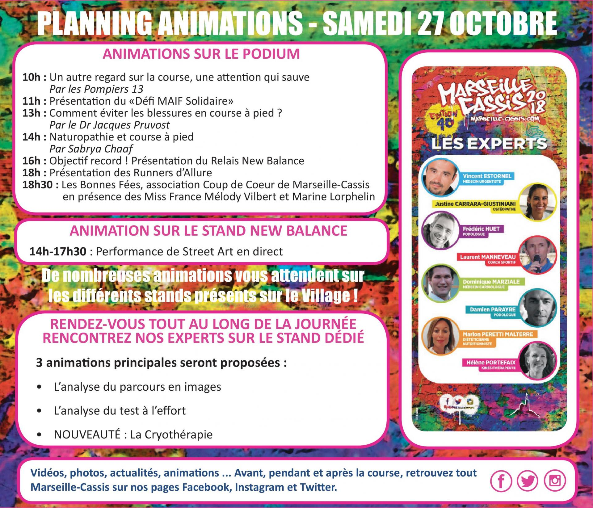 Programme marseille cassis