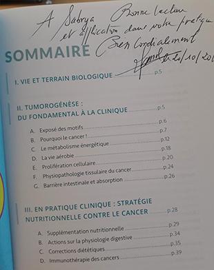 Signature livre